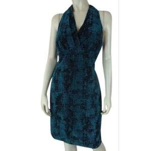 Andrew Marc Dress 8 New Textured Poly Lined